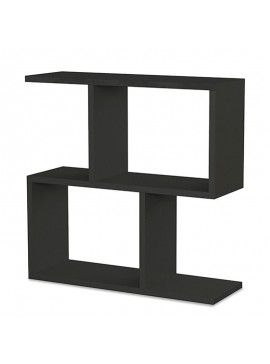 Βοηθητικό τραπέζι Homemania pakoworld χρώμα ανθρακί 60x20x60εκ 119-000730