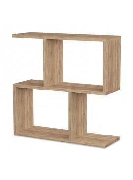 Βοηθητικό τραπέζι Homemania pakoworld χρώμα φυσικό 60x20x60εκ 119-000731