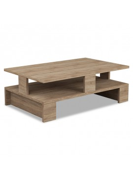 Τραπέζι σαλονιού Mansu pakoworld χρώμα φυσικό 80x50x27,5εκ 119-000759