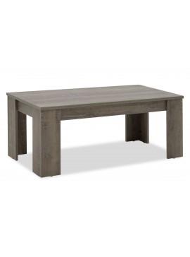 Τραπέζι σαλονιού OLYMPUS pakoworld χρώμα toro 100x51x42,5εκ 123-000012