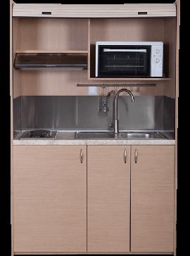 Silver Πολυκουζινάκι 140 ΚΣ140 χωρίς ψυγείο χωρίς  φούρνο28litra