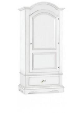 Ιταλικό έπιπλο   Ντουλάπα Art. 1512  EPL05053   96x56x196 εκ.Χρώμα Λευκό
