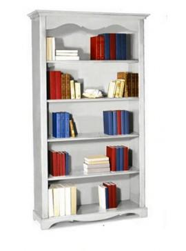 Ιταλικό έπιπλο   Βιβλιοθήκη Art. 1514  EPL04996   120x40x210 εκ.Χρώμα Λευκό