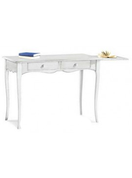 Ιταλικό έπιπλο   Γραφείο Art. 1531  EPL05014   110x56x80 εκ.Χρώμα Λευκό