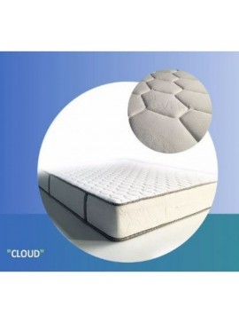 Στρώμα Ύπνου Achaia Strom Cloud Airfoam Latex Memory 2Φ Διπλό 150cm  CloudAirfoamLatexMemory150