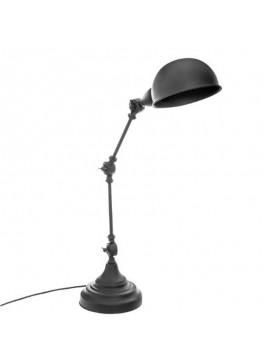Φωτιστικό γραφείου Basalt pakoworld Ε14 μεταλλικό χρώμα μαύρο 32x15x55εκ 199-000085