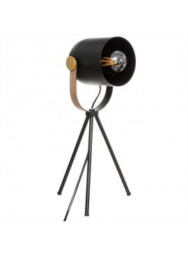 Επιτραπέζιο φωτιστικό Bil pakoworld Ε27 μαύρο-χρυσό 18x16x45εκ 199-000194