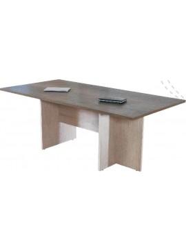 Τραπέζι Συνεδριάσεων ALINE 180x90x 11241801 ΧΡΩΜΑΤΟΣ  ΔΡΥΣ