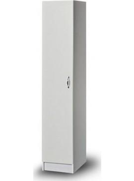 Iris Kirki Ντουλάπα  Μονόφυλλη 36x45x185cm 3136200   λευκό χρώμα