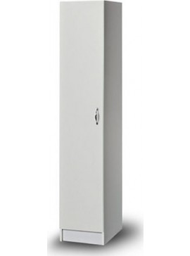 Iris Kirki ΝΤΟΥΛΑΠΑ Μονόφυλλη 36x45x182cm 31366600  Χρώματα δρυς-λευκό