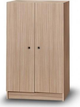 Iris Kirki Δίφυλλη ντουλάπα  χρώματος δρυς 72x45x120cm 31906500