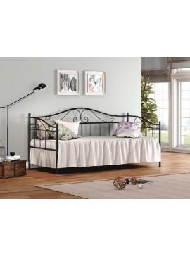 Μεταλλικός Σιδερένιος Καναπές Κρεβάτι Νο 3 Για Στρώμα (90x190) (Με Επιλογές Χρωμάτων)  kpsno3/90/190