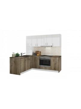 Σύνθεση Κουζίνας μήκος 5,40μ ύψος 2,17μ βάθος 0,60μ, Luxury 540, Genomax 12814-3254675656567