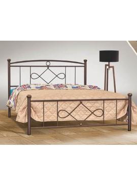 No 22 Κρεβάτι Διπλό Μεταλλικό 160x200cm