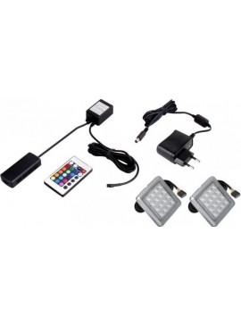 Φωτισμός LED 0002 - RGB - Σετ 2τμχ  Kωδ 16147219 Μήκος 0.00 Βάθος 0.00 Ύψος 0.00