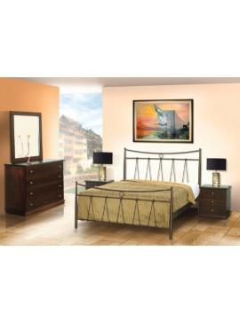 Κρεβάτι μεταλλικό Νο31 (ΣΠ)-90x190 εκ.  EPL04055-90x190 εκ.