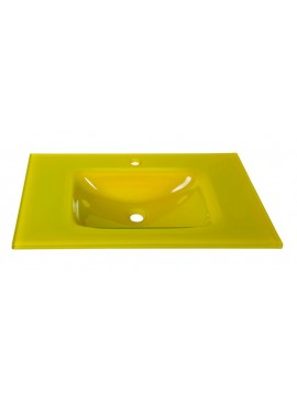 GLORIA GLASS FORM - ΝΙΠΤΗΡΑΣ 76*46 YELLOW  40-9001