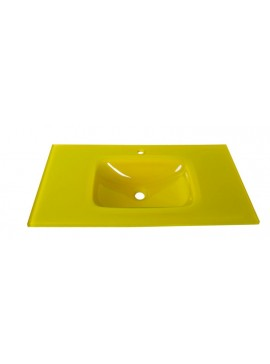 GLORIA GLASS FORM - ΝΙΠΤΗΡΑΣ 91*46 YELLOW  40-9006