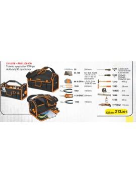2110/08 - Τσάντα εργαλείων C10 με συλλογή 36 εργαλείων, της BETA