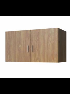 Πατάρι ντουλάπας δίφυλλο σε χρώμα ανιγκρέ 105x50x60 SB 34-ANIGRE