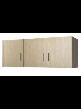 Πατάρι ντουλάπας τρίφυλλο σε χρώμα δρυς 110x50x60 SB 35-DRYS