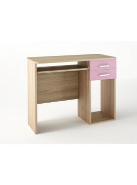 Παιδικό γραφείο σε χρώμα δρυς-ροζ 100x55x80 SB 8-ROZ