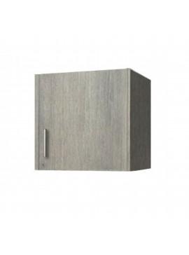 Πατάρι ντουλάπας μονόφυλλο σε χρώμα σταχτί 48x50x60 SB 32-STAXTI