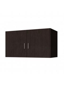 Πατάρι ντουλάπας δίφυλλο σε χρώμα βέγγε 85x50x60 SB 33-WENGE