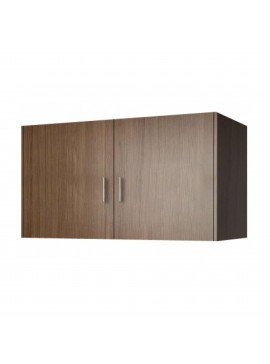 Πατάρι ντουλάπας δίφυλλο σε χρώμα καρυδί 85x50x60 SB 33-KARYDI