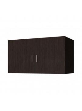 Πατάρι ντουλάπας δίφυλλο σε χρώμα βέγγε 105x50x60 SB 34-WENGE
