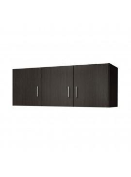Πατάρι ντουλάπας τρίφυλλο σε χρώμα βέγγε 110x50x60 SB 35-WENGE