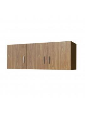 Πατάρι ντουλάπας τρίφυλλο σε χρώμα ανιγκρέ 110x50x60 SB 35-ANIGRE