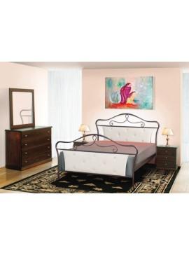 Κρεβάτι μεταλλικό Νο52 (ΣΠ)-160x200 εκ.  EPL04019-160x200 εκ.