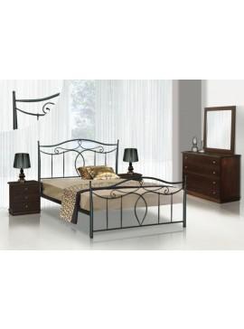 Κρεβάτι μεταλλικό Νο53 (ΣΠ)-150x200 εκ.  EPL04020-150x200 εκ.