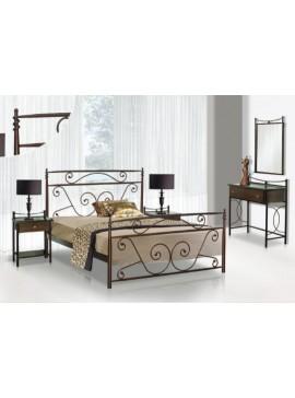 Κρεβάτι μεταλλικό Νο59 (ΣΠ)-150x200 εκ.  EPL04026-150x200 εκ.