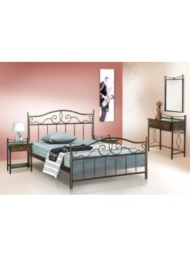 Κρεβάτι μεταλλικό Νο60 (ΣΠ)-150x200 εκ.  EPL04027-150x200 εκ.