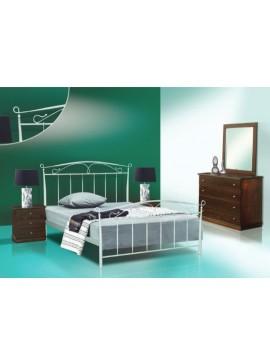 Κρεβάτι μεταλλικό Νο61 (ΣΠ)-160x200 εκ.  EPL04028-160x200 εκ.