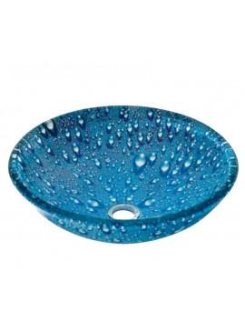 GLORIA DIA  GLASS - NIΠΤΗΡΑΣ 42*145 BLUE DROPS  66-8316