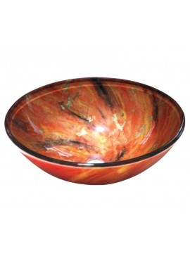GLORIA DIA GLASS - ΝΙΠΤΗΡΑΣ 42*14 ORANGE MIX  67-8003