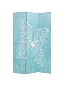 Διαχωριστικό Δωματίου Πτυσσόμενο Πεταλούδα Μπλε 120 x 170 εκ.  245885