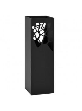 Ομπρελοθήκη με Σχέδιο Πέτρες Μαύρη Ατσάλινη   246798
