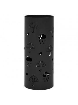 Ομπρελοθήκη με Σχέδιο Ομπρέλες Μαύρη Ατσάλινη   246804