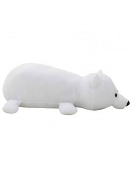 Πολικός Αρκούδος Λούτρινος Μαλακός Λευκός  80243