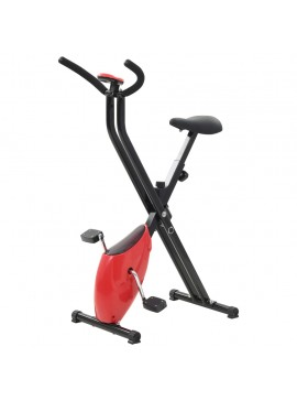 Ποδήλατο Γυμναστικής X-Bike με Αντίσταση Ιμάντα Κόκκινο  91693