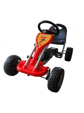 Go Kart με Πετάλια Κόκκινο  90253