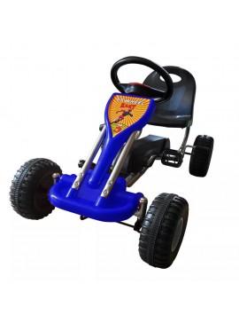 Go Kart με Πετάλια Μπλε  90254