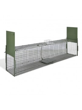 Παγίδα Ζώων με 2 Πόρτες 150 x 30 x 30 εκ.   170074