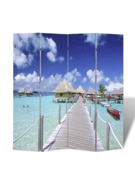 Διαχωριστικό Δωματίου Πτυσσόμενο Παραλία 160 x 170 εκ.  240476