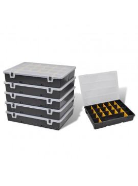 Κουτί Αποθήκευσης με Θήκες Ταξινόμησης 6 τεμ.  140908