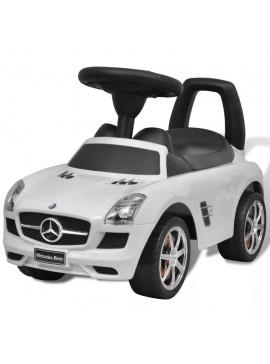 Mercedes Benz Αυτοκίνητο Παιδικό Ποδοκίνητο Λευκό  80089